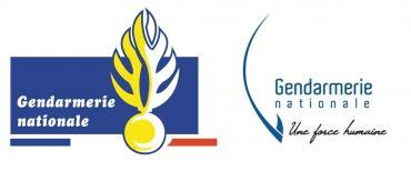 ancien logo / nouveau logo de la gendarmerie