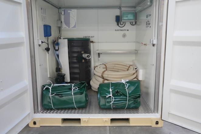 Système d'approvisionnement en eau / Logistic Solutions