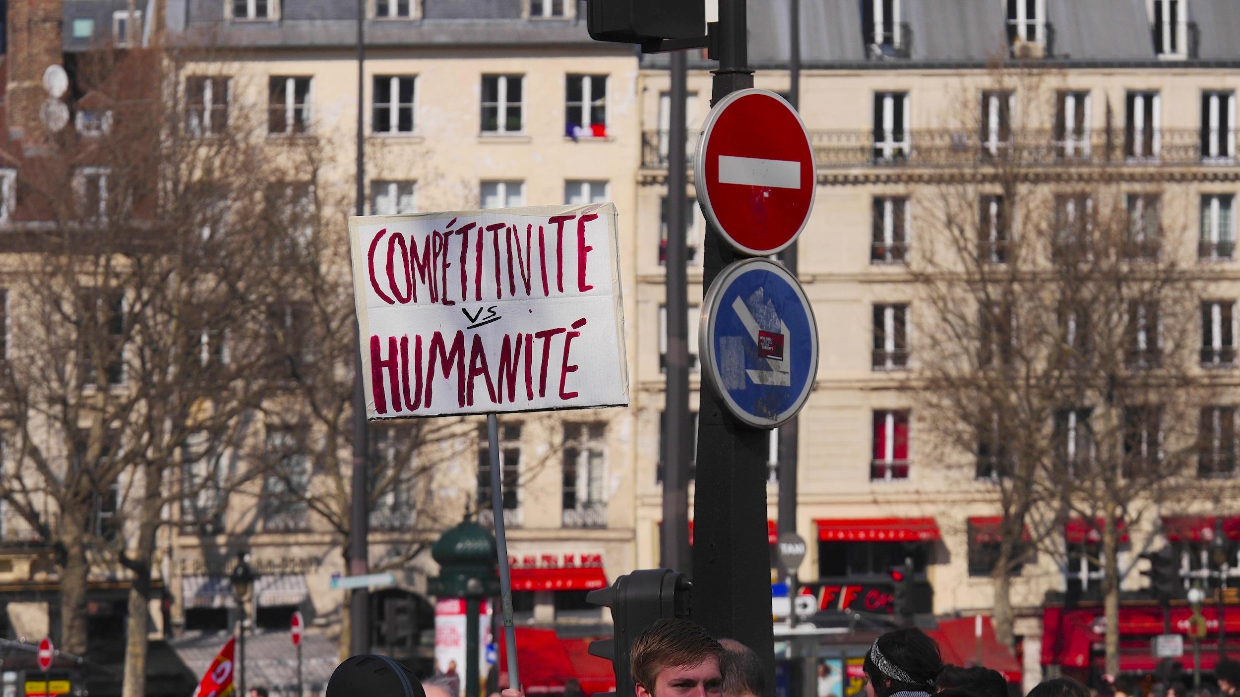 «Compétitivité vs Humanité»
