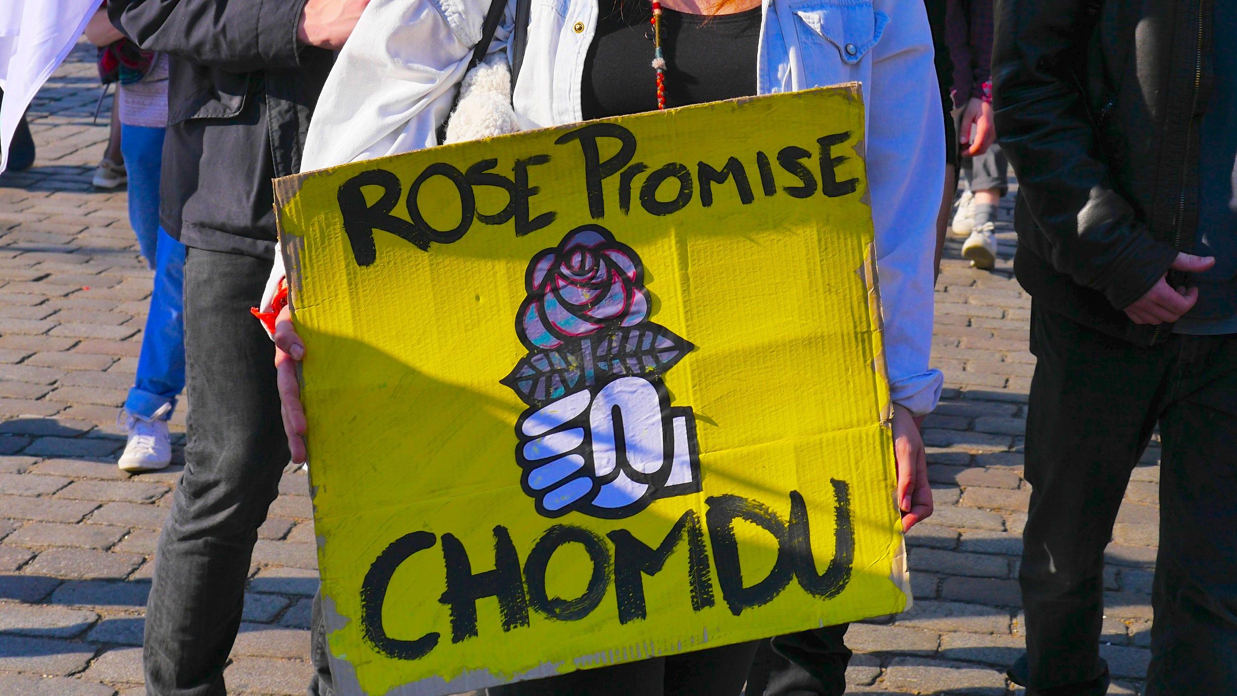 «Rose promise, chomdu»
