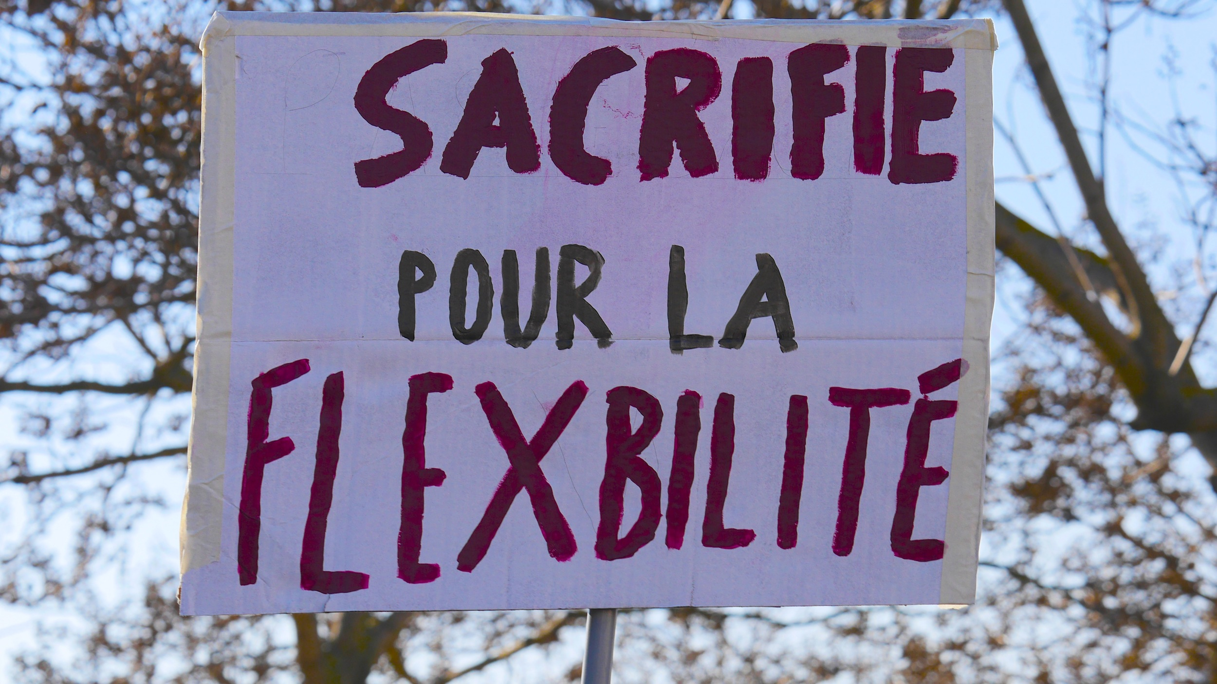 «Sacrifié pour la flexibilité»