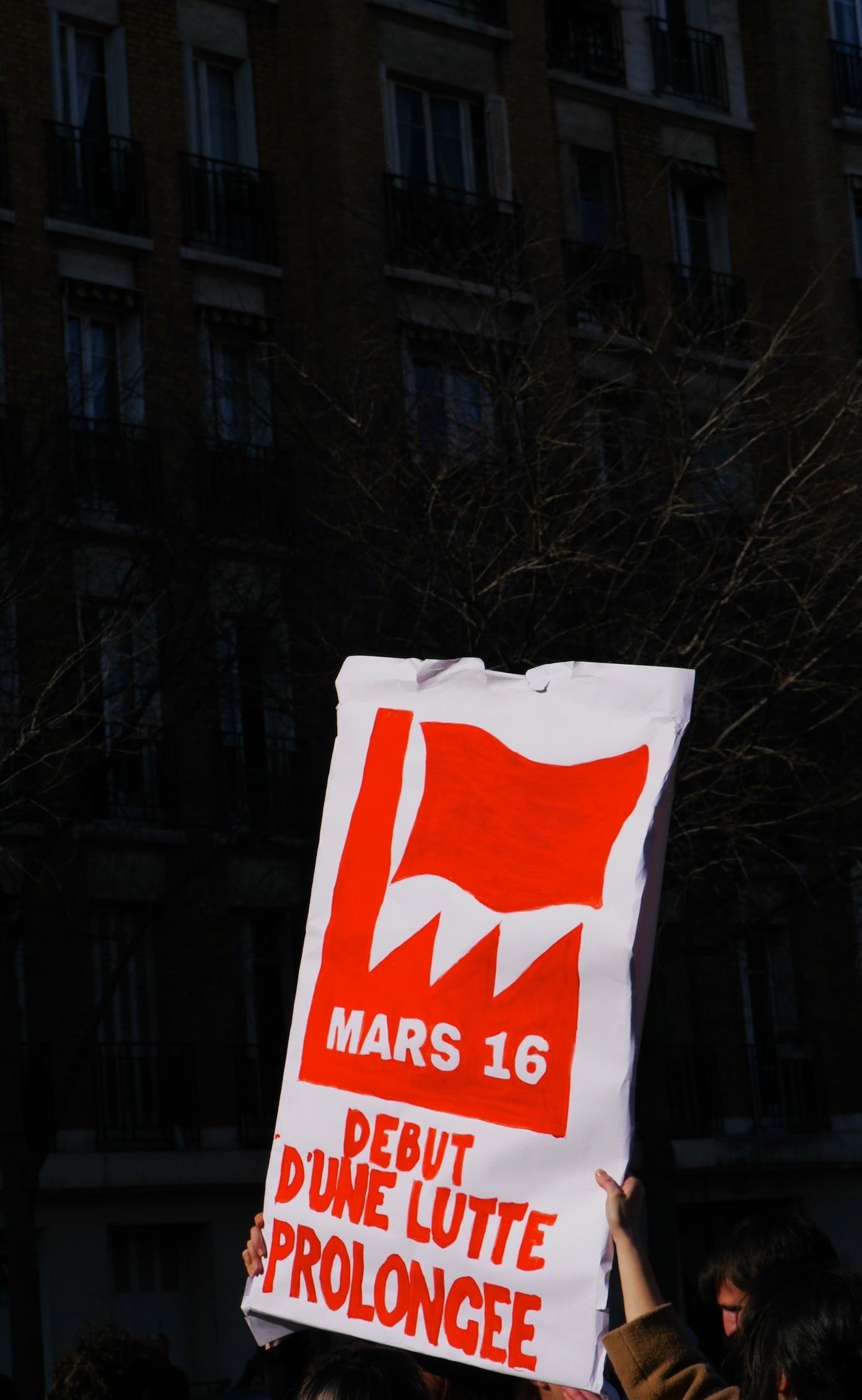 «Mars 16, début d'une lutte prolongée»