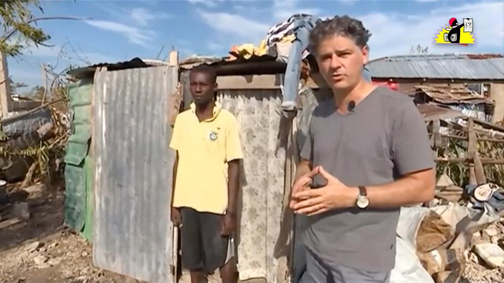 « C'est la maison d'Edmond » : reportage en Haïti diffusé par le journal de France 2