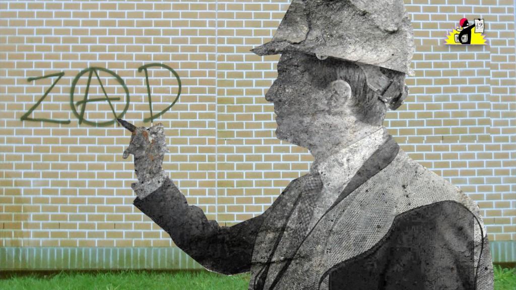 « Avec des statues en béton armé, pour immortaliser les porteurs du projet »